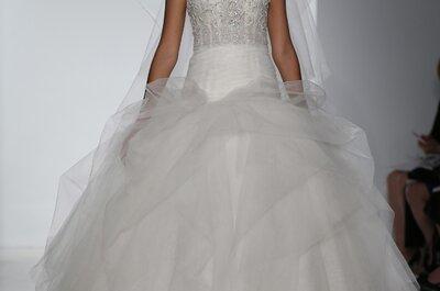 Brautkleider 2015 von Kenneth Pool–  gezeigt auf der New York Bridal Week
