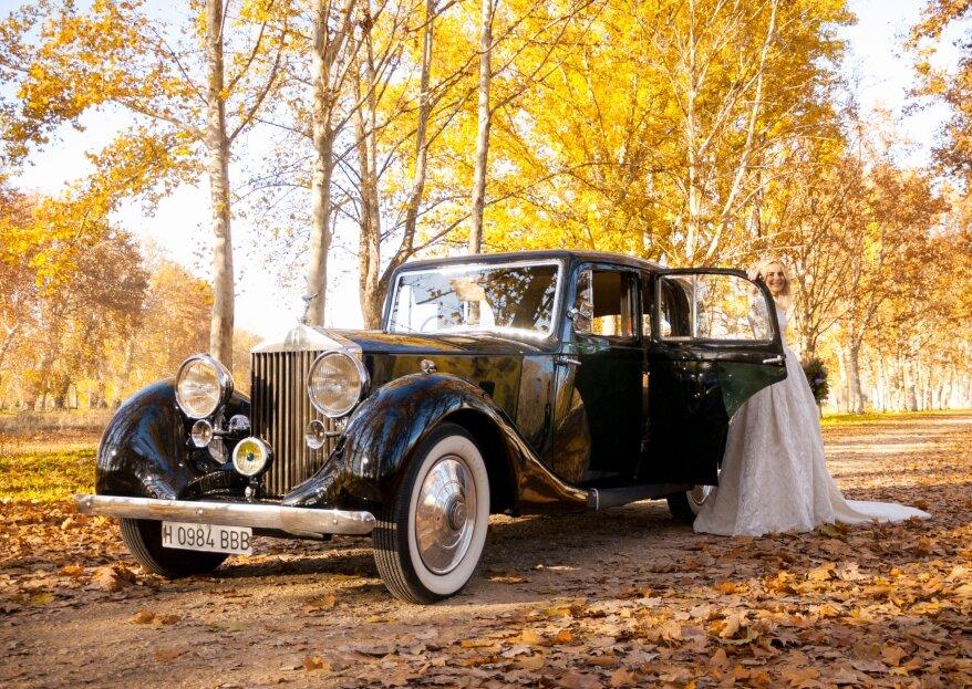 Iberocab: el amor por los coches clásicos y la pasión por las bodas para tu gran día
