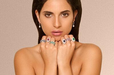Elegantes, originales y únicas: así deben ser las joyas que sellen vuestro amor