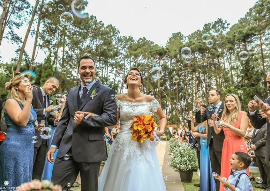 Espaço Carpe Diem: um espaço com lindas paisagens campestres e muita experiência para realizar os sonhos dos noivos que querem casar perto da natureza