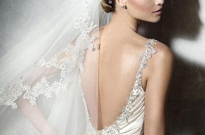 Cómo escoger tu velo de novia: 5 aspectos básicos que debes tener en cuenta