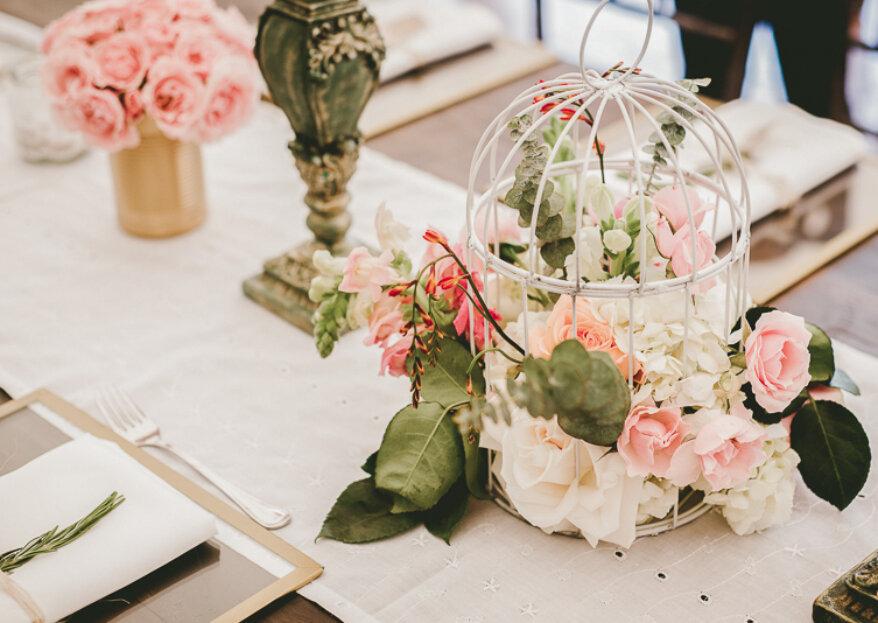 ¿Cómo hacer los centros de mesa para tu matrimonio? ¡Sigue estos consejos DIY y hazlos tú misma!