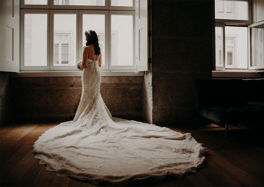 677871f7b Comprar, alugar ou fazer à medida o vestido de noiva: qual a melhor solução  para si?