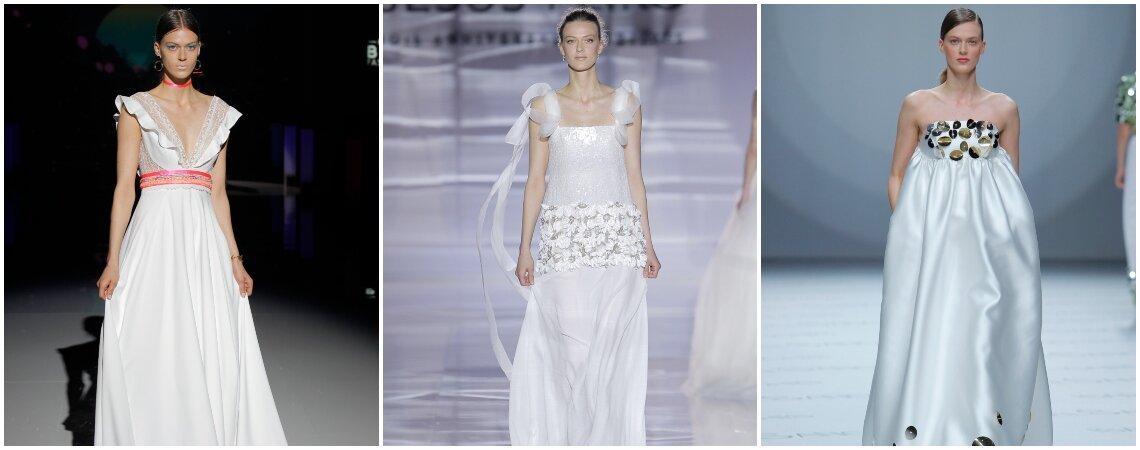 Vestido de noiva imperial: garantia de um look chique, moderno e romântico!