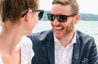 Sommer-Hochzeit bei Rekordtemperaturen: So stylisch kann Heiraten am Zürichsee sein!