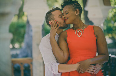 Una gran día con sabor americano: la boda de Michaela y Manuel