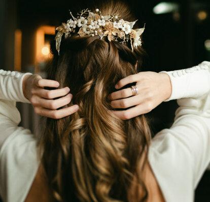 Semirecogidos Para Novia Peinados Naturales Románticos Y