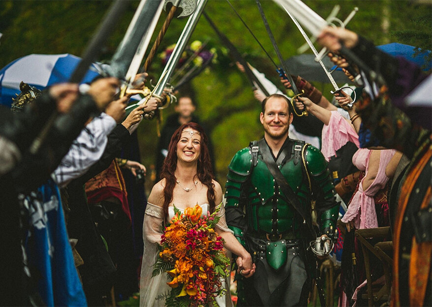 5 formas de dar um cunho medieval ao seu casamento