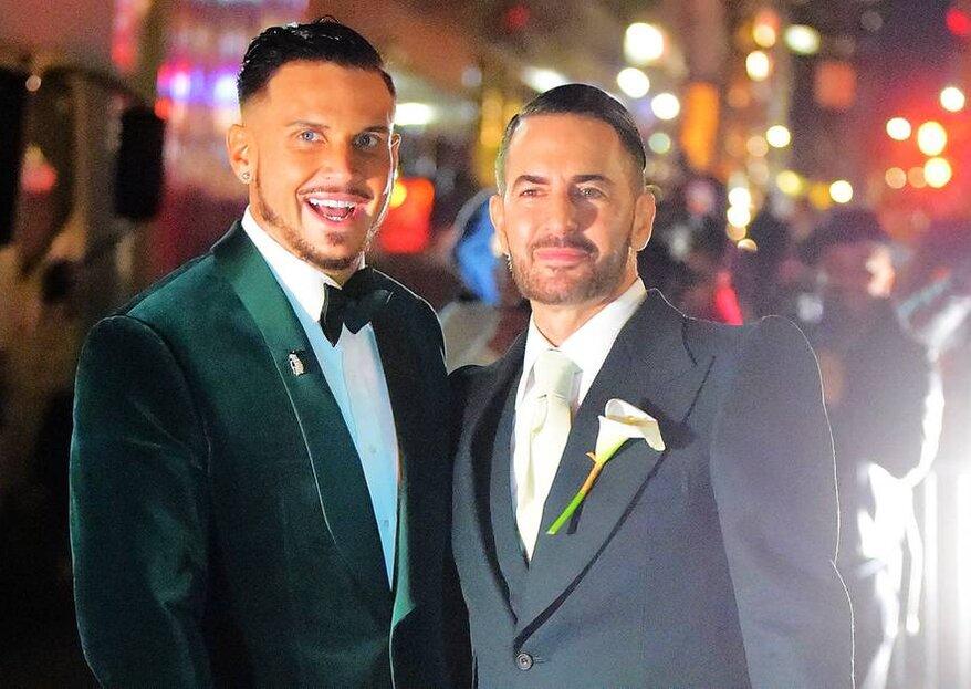 Die Hochzeit von Modedesigner Marc Jacobs in New York