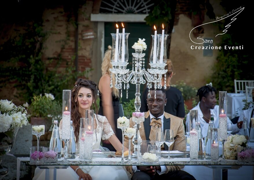 A love linked to destiny: Margherita and Ousmane's Real Wedding