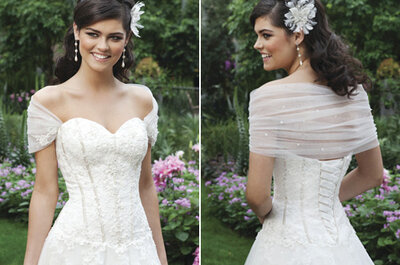 Sincerity Bridal Spring 2013 - 3 wedding trends