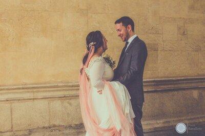 Un día lleno de sensaciones: la boda de Margarita y Alejandro