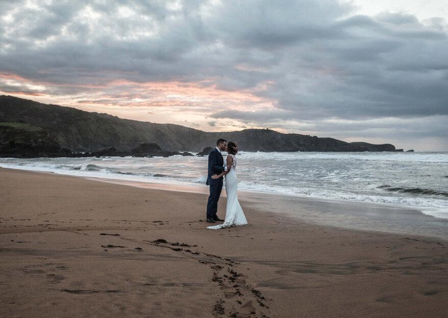Amor, familia y amistad: la boda de Lorena y Sergio
