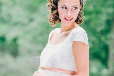 Hochzeitsdeko, Diäten & Sitzordnung: Diese kuriosen Gedanken kommen schwangeren Bräuten in den Sinn!