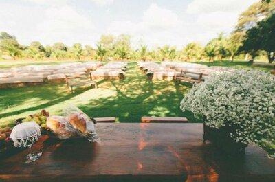 Locais inspiradores e charmosos para seu casamento ao ar livre no Paraná