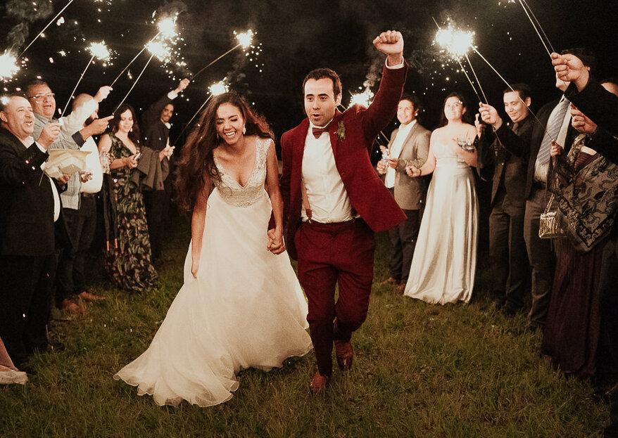 Eres la luz que ilumina mi alma: la boda de Sergio y Lety