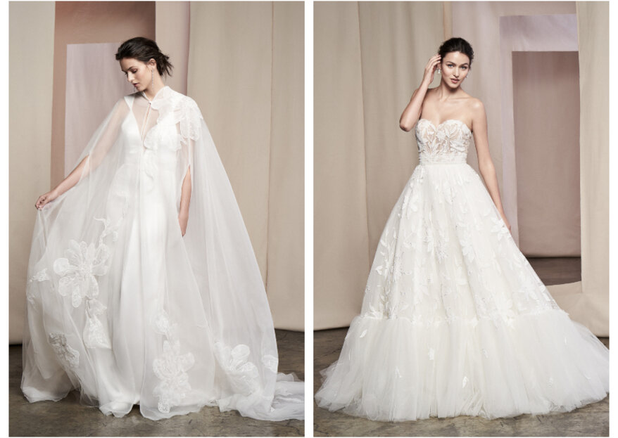For Bold and Original Brides: Discover the Justin Alexander Signature 2020 Collection