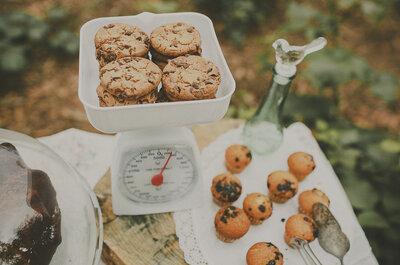 Docinhos FIT no casamento: TODO o sabor e menos calorias para comer sem culpa!