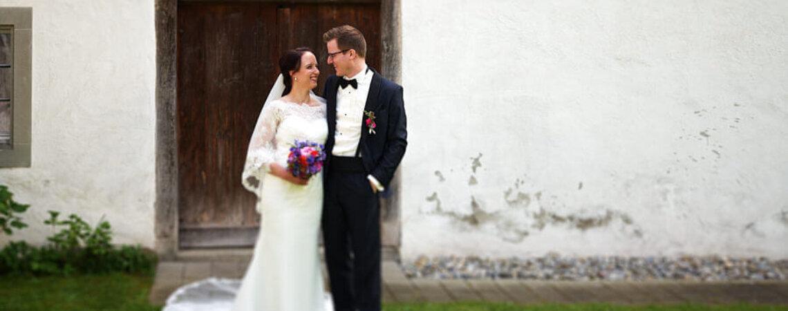 Die zauberhafte Hochzeit von Chantal & Daniel auf Schloss Wülflingen