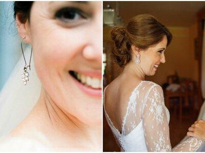 Aretes de novia según el peinado. Conoce cuáles son las mejores opciones