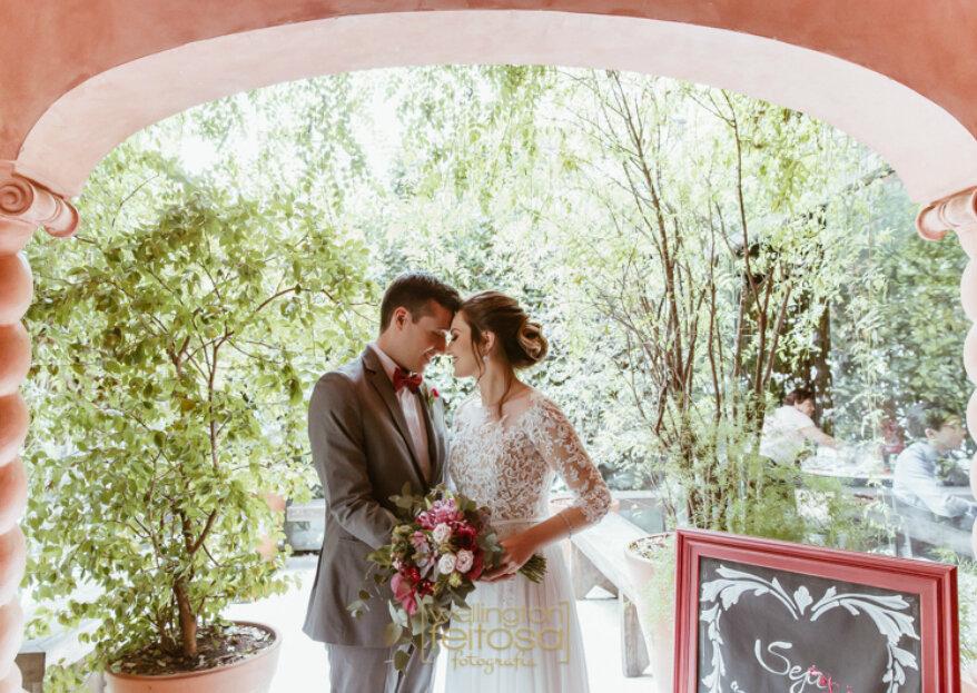 Veridiana: celebrações charmosas em casarões históricos com um delicioso toque italiano!