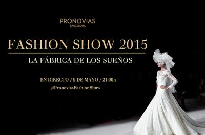 ¡No te pierdas el desfile de Pronovias colección 2015 en directo!