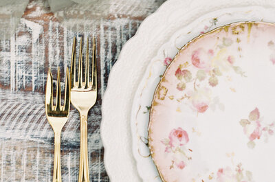Descubre cómo hacer que tu boda vintage sea la más hermosa... ¡Sin gastar mucho!