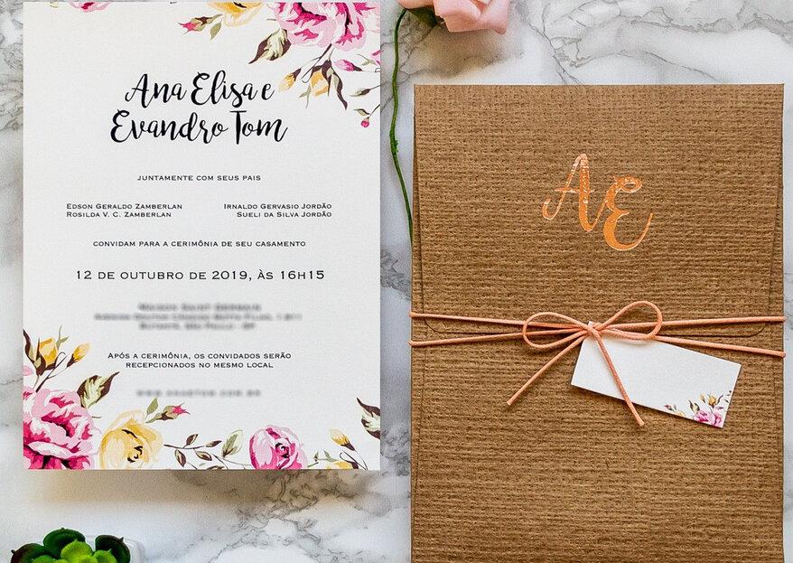 Como escrever o convite do meu casamento em 5 passos