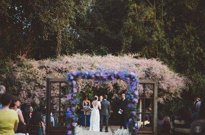 Casamento ao ar livre: 5 dicas BÁSICAS para acertar em TUDO!