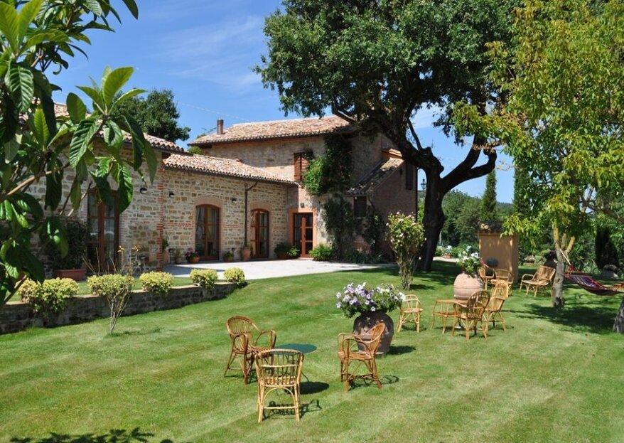 Antica Villa Castelli, perfetta location per tutte le coppie di futuri sposi amanti della natura e dei paesaggi campestri