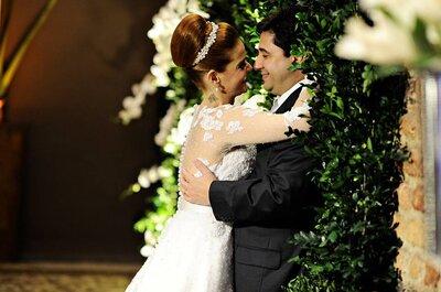 Larissa & João Paulo: casamento clássico com toque contemporâneo em Niterói