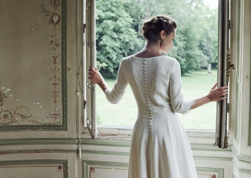 Les tenues de mariée tendances cet automne-hiver
