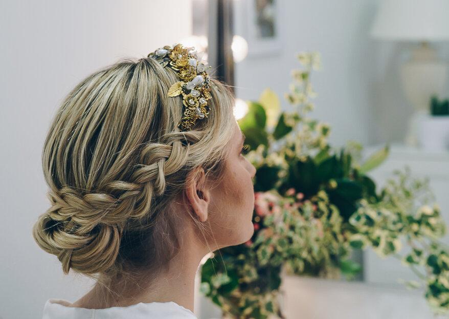 10 peinados sencillos y fáciles que llevan las famosas para lucir en una boda