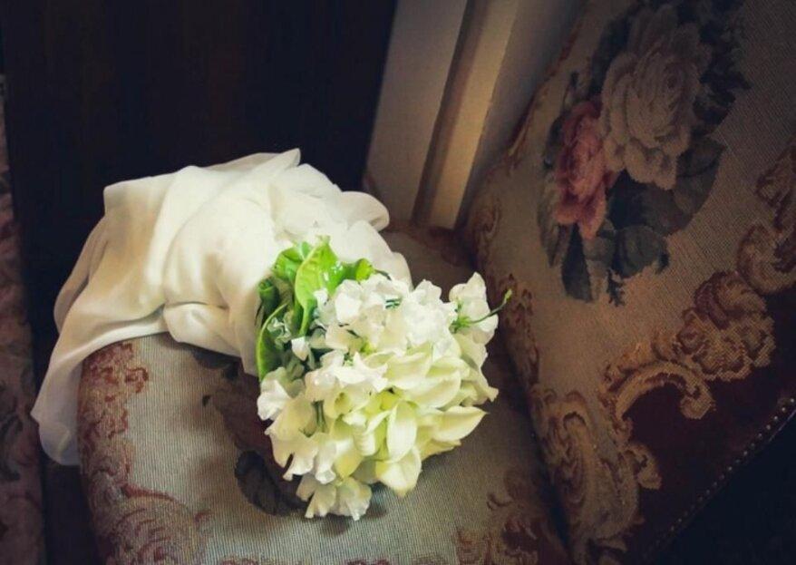 Un bouquet matrimoniale per ogni tipologia di sposa