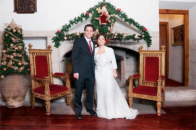 Casarse en Navidad tiene sus ventajas