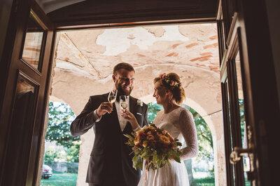 Hania i Karol pobrali się w bajecznym Pałacu Wielka Wieś. Piękny ślub!
