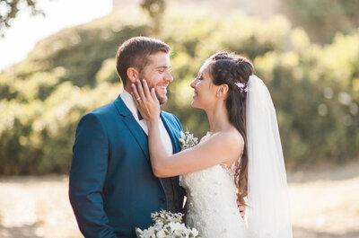 Laetitia et Florian : un joli mariage corse entre nature et fleurs