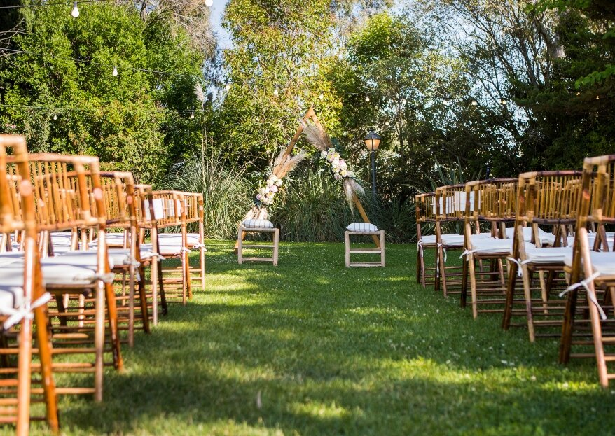 6 jardines excepcionales para celebrar las bodas al aire libre con más estilo