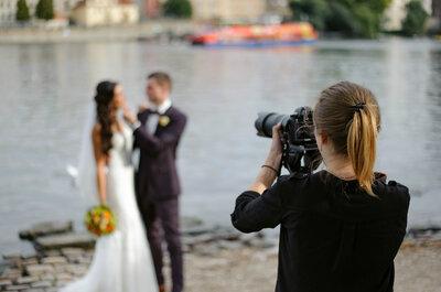 ¿Qué no puede faltar en tu video de matrimonio? Los expertos nos dan sus consejos