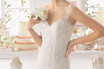 Brautkleider mit spektakulären Ausschnitten von Rosa Clará 2015