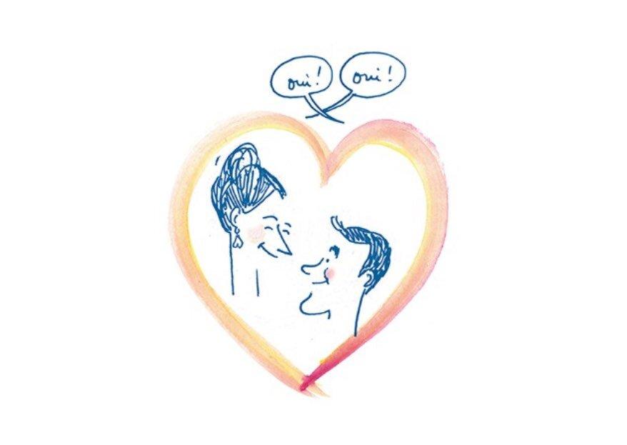 Croqueuse de mariage : des faire-part personnalisés pour des invités qui se sentent aimés !