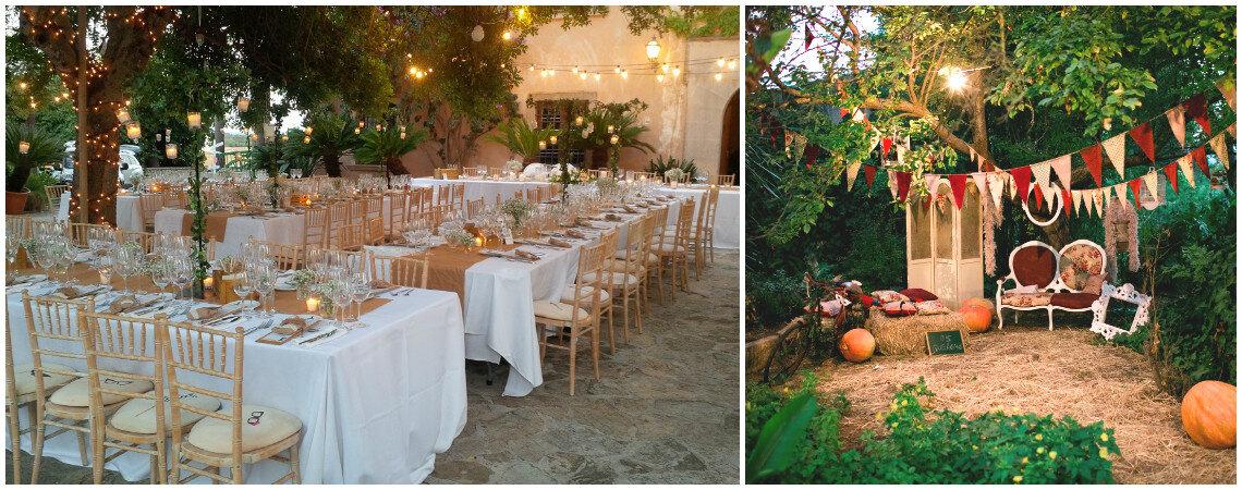 Versátil y elegante: celebra tu boda en una tradicional finca mallorquina
