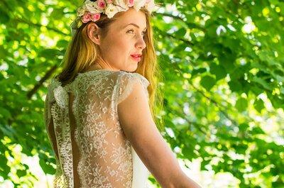 Robes de mariée Adeline Bauwin 2017 : une collection