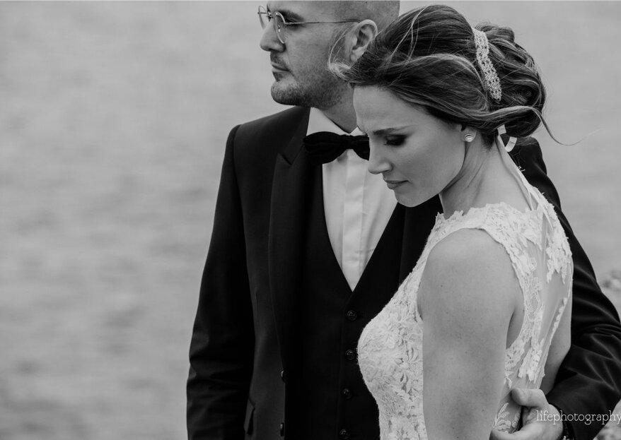 Ana e Carmine e il loro matrimonio in punta di piedi