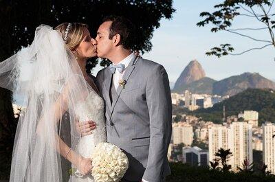 Paola e David: Casamento clássico super elegante com vistas incríveis!
