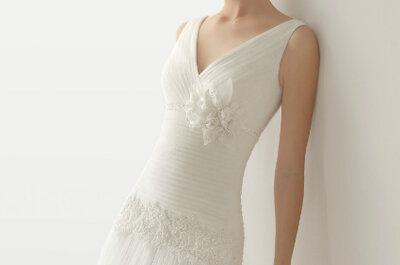 Colecção de vestidos de noiva Soft by Rosa Clará 2013