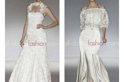 Robes de mariée Franc Sarabia 2013 : dentelles et broderies pour une mariée rétro