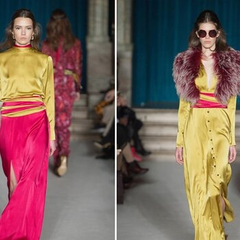 London Fashion Week: inspirations from the Autumn-Winter 2015/16 Collection for your next winter wedding
