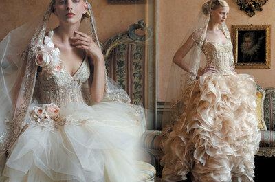7 errores que puedes cometer en la elección de tu vestido de novia