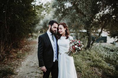 Simplemente inmejorable: la boda de Aída y Antonio